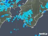 2017年10月13日の和歌山県の雨雲レーダー