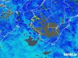 2017年10月15日の和歌山県の雨雲レーダー