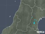 2017年10月17日の山形県の雨雲レーダー