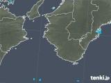 2017年10月19日の和歌山県の雨雲レーダー