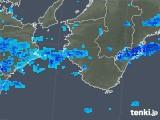 2017年10月20日の和歌山県の雨雲レーダー