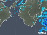 2017年10月24日の和歌山県の雨雲レーダー
