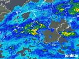2017年10月28日の和歌山県の雨雲レーダー