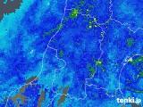 2017年10月29日の山形県の雨雲レーダー
