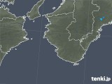 2017年10月30日の和歌山県の雨雲レーダー