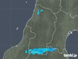 2017年11月01日の山形県の雨雲レーダー