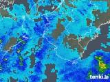 2017年11月26日の和歌山県の雨雲の動き