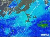 2017年11月26日の宮崎県の雨雲の動き