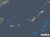 2017年12月04日の沖縄地方の雨雲レーダー