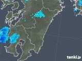 2017年12月05日の宮崎県の雨雲の動き