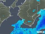 2017年12月08日の和歌山県の雨雲の動き