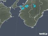 2017年12月26日の和歌山県の雨雲の動き