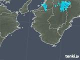 2017年12月27日の和歌山県の雨雲の動き