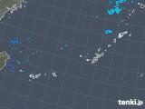2017年12月28日の沖縄地方の雨雲レーダー