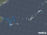 2017年12月29日の沖縄地方の雨雲レーダー