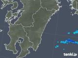 2018年01月05日の宮崎県の雨雲の動き