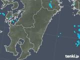 2018年01月07日の宮崎県の雨雲の動き