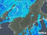 2018年01月17日の奈良県の雨雲レーダー