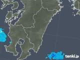 2018年01月31日の宮崎県の雨雲の動き