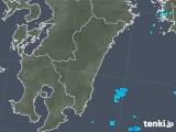 2018年02月01日の宮崎県の雨雲の動き