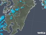 2018年02月05日の宮崎県の雨雲の動き