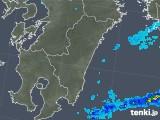 2018年02月15日の宮崎県の雨雲の動き