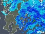 2018年02月19日の宮崎県の雨雲の動き