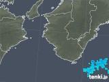 2018年02月22日の和歌山県の雨雲の動き