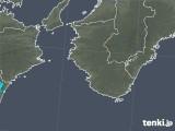 2018年02月26日の和歌山県の雨雲の動き