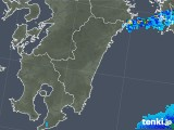 2018年03月05日の宮崎県の雨雲の動き