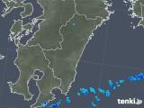 2018年03月07日の宮崎県の雨雲の動き