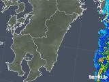 2018年03月08日の宮崎県の雨雲の動き