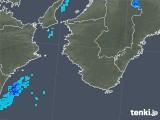 2018年03月09日の和歌山県の雨雲の動き