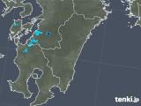2018年03月09日の宮崎県の雨雲の動き