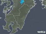 2018年03月11日の宮崎県の雨雲の動き