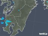2018年03月15日の宮崎県の雨雲の動き