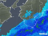 2018年03月16日の和歌山県の雨雲の動き