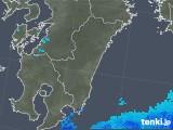 2018年03月16日の宮崎県の雨雲の動き