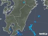 2018年03月18日の宮崎県の雨雲の動き
