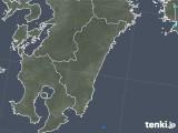 2018年03月27日の宮崎県の雨雲の動き