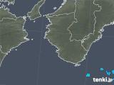 2018年03月29日の和歌山県の雨雲の動き