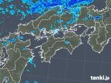 2018年04月04日の四国地方の雨雲の動き
