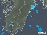 2018年04月04日の宮崎県の雨雲の動き