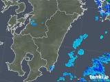 2018年04月06日の宮崎県の雨雲の動き