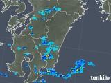 2018年04月11日の宮崎県の雨雲の動き