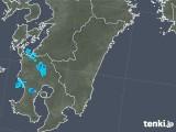 2018年04月13日の宮崎県の雨雲の動き