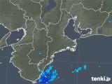 2018年04月22日の三重県の雨雲レーダー