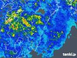 2018年04月24日の宮崎県の雨雲の動き