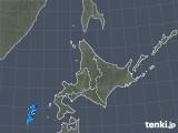 2018年04月29日の北海道地方の雨雲の動き