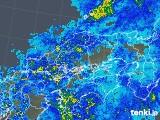 2018年05月02日の中国地方の雨雲の動き